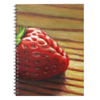 Strawberry Stripe Notebooks