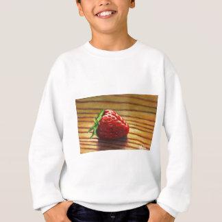 Strawberry Stripe Sweatshirt