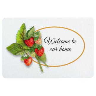 Strawberry Summer, Welcome Floor Mat