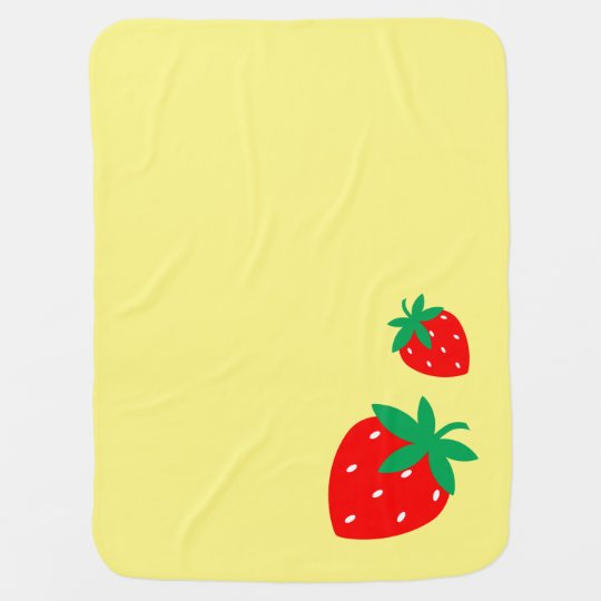 Strawberry Swaddle Blankets