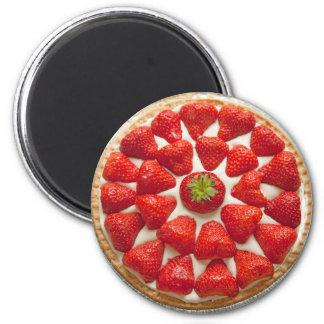 Strawberry Tart Magnet