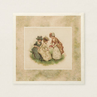 Strawberry Tea or Picnic Paper Napkins