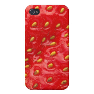 Strawberry texture iPhone 4 case