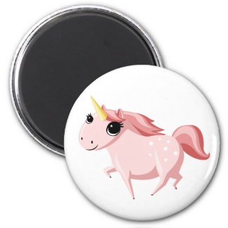 Strawberry the Pink Unicorn Magnet