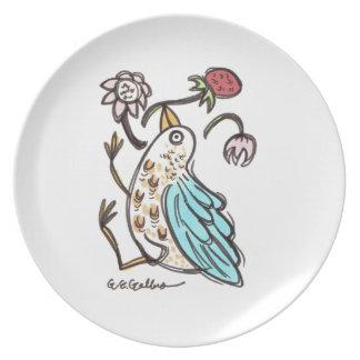 Strawberry Thief Plate