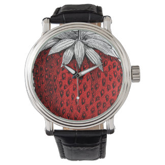Strawberry Time Watch
