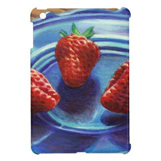 Strawberry Trio iPad Mini Case