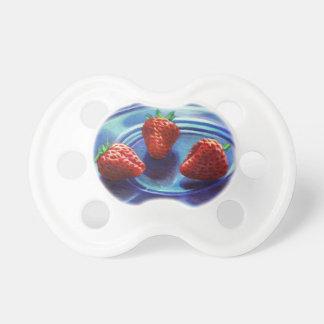 Strawberry Trio Pacifier
