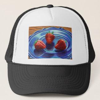 Strawberry Trio Trucker Hat