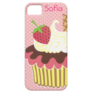 Strawberry & Whipped Cream iPhone 5 Casemate Case iPhone 5 Cases