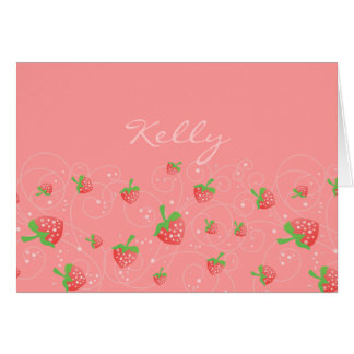 Strawberry Works Card