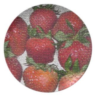 Strawberrys plate