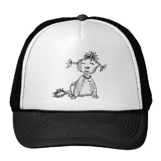 Stray dog trucker hat