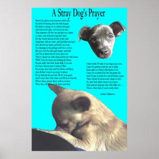 Stray Dog's Prayer Poster