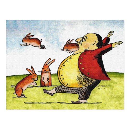 Stray Hares Postcard