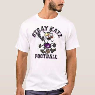 Stray Katz Football T-Shirt