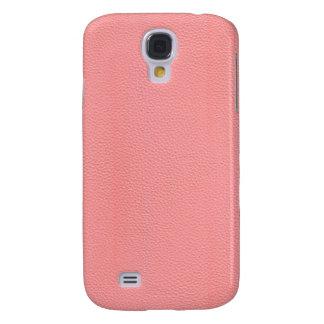 Streaked Pink Leather Grain Look