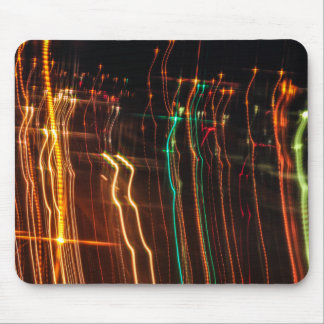 Streaking Lights Mouse Pad