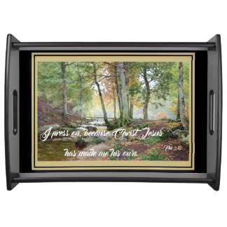 Stream Bridge Jesus Bible Press On Serving Tray
