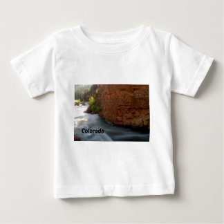 Stream in the Colorado Rockies Baby T-Shirt