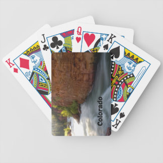 Stream in the Colorado Rockies Bicycle Playing Cards