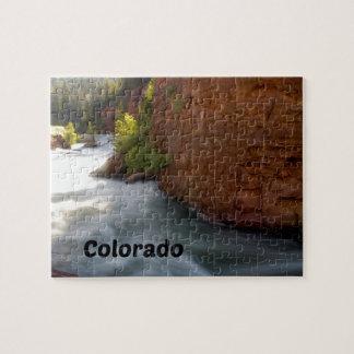 Stream in the Colorado Rockies Jigsaw Puzzle