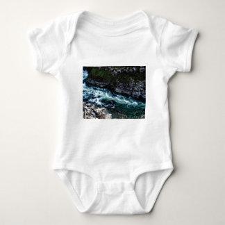 stream of emerald waters baby bodysuit