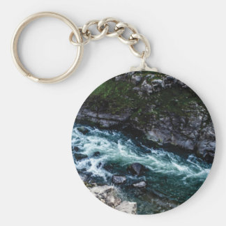 stream of emerald waters keychain