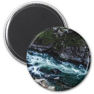 stream of emerald waters magnet