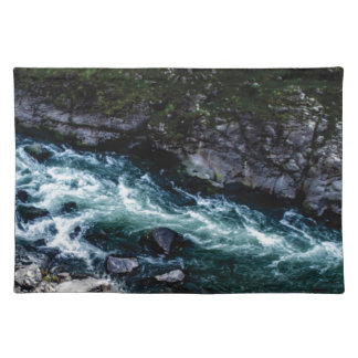 stream of emerald waters placemat