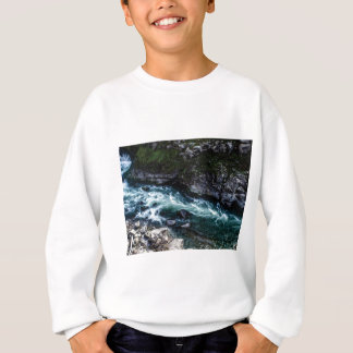 stream of emerald waters sweatshirt