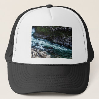 stream of emerald waters trucker hat