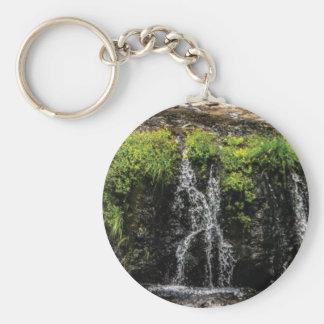 stream trickle falls keychain