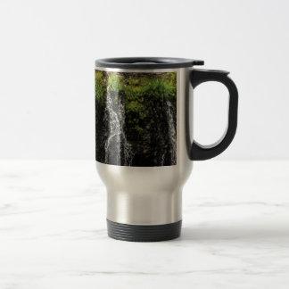 stream trickle falls travel mug