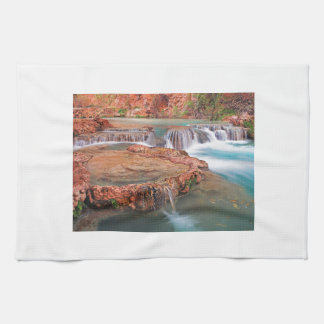 Stream Waterfalls Kitchen Towel