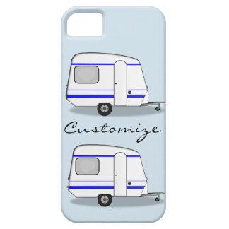 Streamlined small trailer gypsy caravan iPhone 5 case