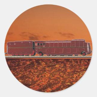 Streamlines Steam Locomotive BR 05 Sticker