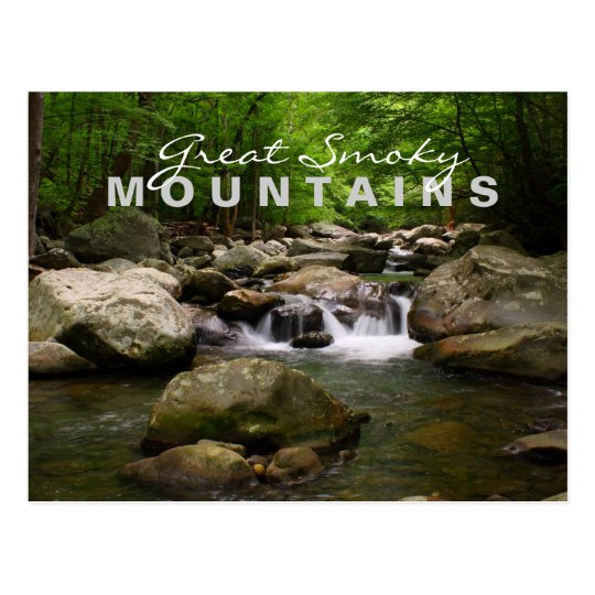 Streams and Rivers - Great Smoky Mountains Postcard