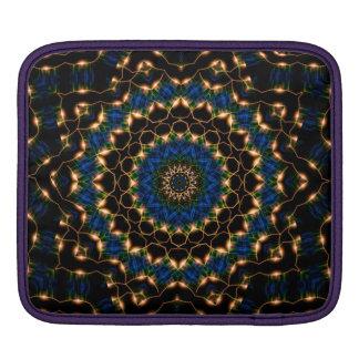 Streams of Light Mandala iPad Sleeve