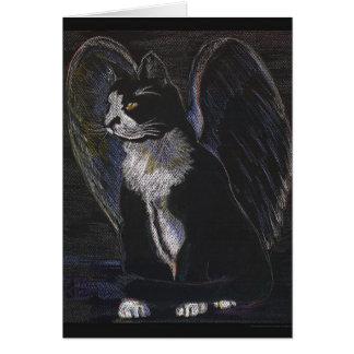 street angel note card