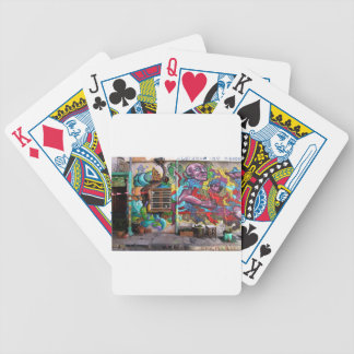 street art 8 bicycle playing cards