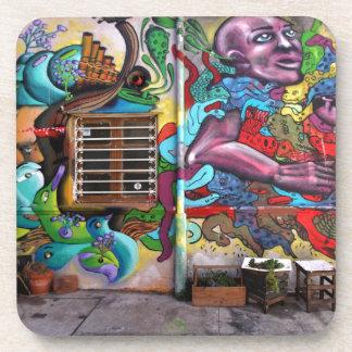 street art 8 coaster