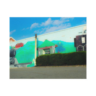 Street Art Canvas