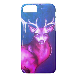 Street Art Deer iPhone 7 Case