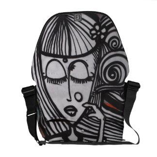 street ART Messenger Bag