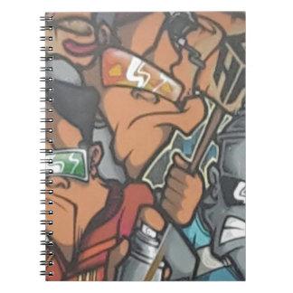 street artist notebook