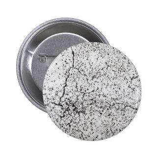 Street asphalt cracks texture 2 inch round button