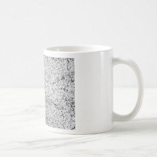 Street asphalt cracks texture coffee mug