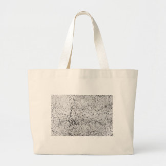 Street asphalt cracks texture large tote bag