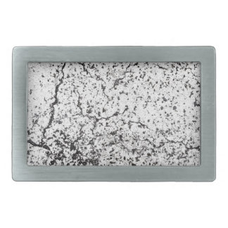 Street asphalt cracks texture rectangular belt buckle